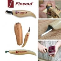 FLEXCUT USA CHISELS  WOOD CARVING CHIP CARVERS WALKING STICK MAKERS